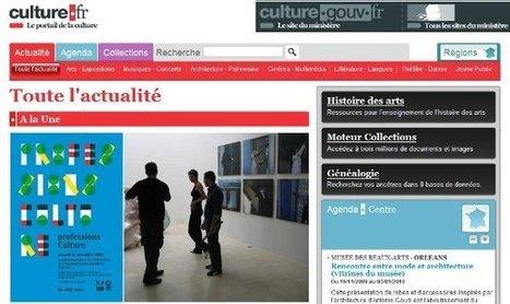 IL Y A 6 ANS...Nouveau visage pour le site culture.fr | Clic France | Scoop.it