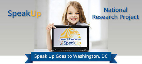 Report Release: Speak Up 2014 National Findings, K-12 Students | Technology and Leadership in Education | Scoop.it