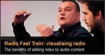 Visualising radio : Is it desirable to add visual element to all audio ? | BBC Radio Fast Train | Radio 2.0 (En & Fr) | Scoop.it