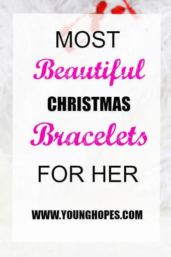Most Beautiful Christmas Bracelets For Her: Girlfriend,Wife,Mom • | All Occasion Gifts | Scoop.it