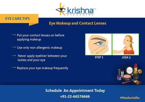 Safety Tips for Eye make up and Contact Lenses ! | Best Eye Hospital in Mumbai | Scoop.it
