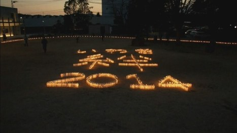 Thousands of candles lit to commemorate three years since Japan tsunami - YouTube | Katern Japan | Scoop.it