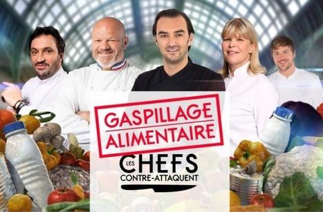 Gaspillage alimentaire (M6) : Cyril Lignac contre-attaque avec Florent Ladeyn et Philippe Etchebest   Communication Agroalimentaire   Scoop.it