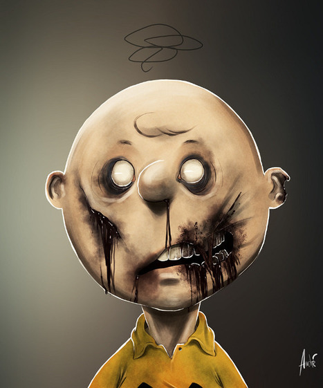 Weird Zombie Portraits By Andre De Freitas | Zombie Mania | Scoop.it