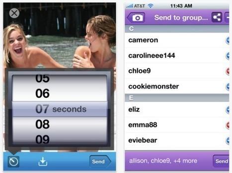 Facebook : bientôt une application aux messages qui s'autodétruisent? | Social Network & Digital Marketing | Scoop.it