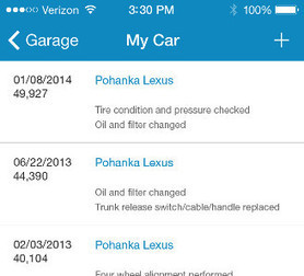 Experience With iPhone App Car Maintenance | Technology | Scoop.it