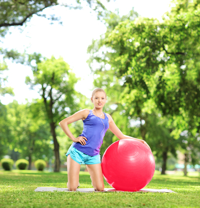 Get a healthy body with regular Exercise ball workouts | BallExerciseWorkouts.com | Exercise Ball Workouts | Scoop.it