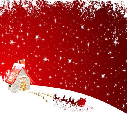 Fondo nevada polo norte Navidad | Recursos | Scoop.it