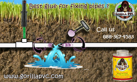 Best glue for flexible PVC pipes - Imgur | Gorilla PVC Pipe Glue & Cement | Scoop.it