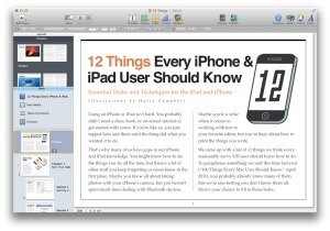 Hands on with iBooks Author 2.0 | Macworld | Higher Education Apps | Scoop.it