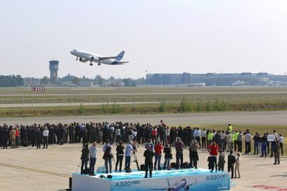 Premier vol réussi pour l'A320neo au-dessus de Toulouse | La lettre de Toulouse | Scoop.it