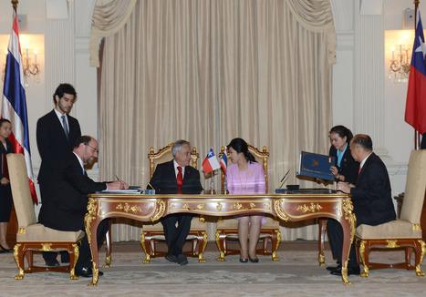 Chile y Tailandia firman Tratado de Libre Comercio y Cooperación | MATERIAL DOCENTE COMEX Y LOGISTICA | Scoop.it