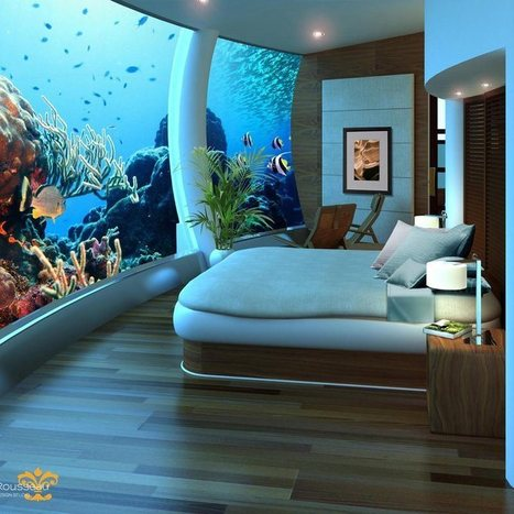 The World's Most Incredible Underwater HotelRooms - CBS Baltimore   All about water, the oceans, environmental issues   Scoop.it