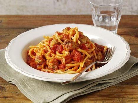 Pork Meatballs With Linguine | pasta | Scoop.it