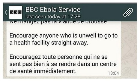 How the BBC is using WhatsApp to boost engagement - WAN-IFRA | Big Media (En & Fr) | Scoop.it