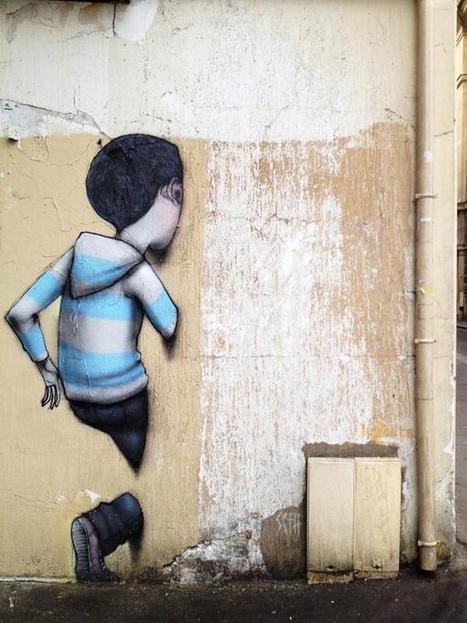 Vertical 3D Street Art | art | Scoop.it