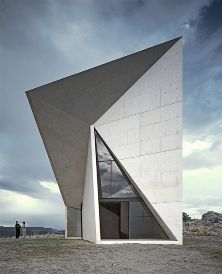 [Ciudad Real, Spain] Chapel in Villeaceron - S.M.A.O. - ArchiSnack | The Architecture of the City | Scoop.it
