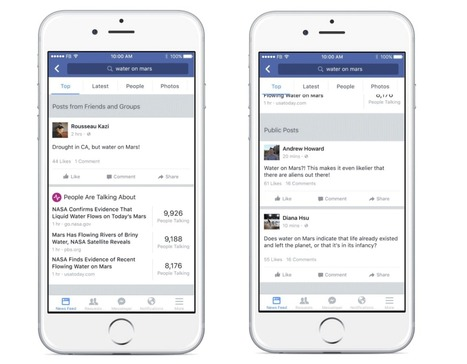 Facebook Search becomes more news oriented | Social Media and Digital Publishing | Scoop.it