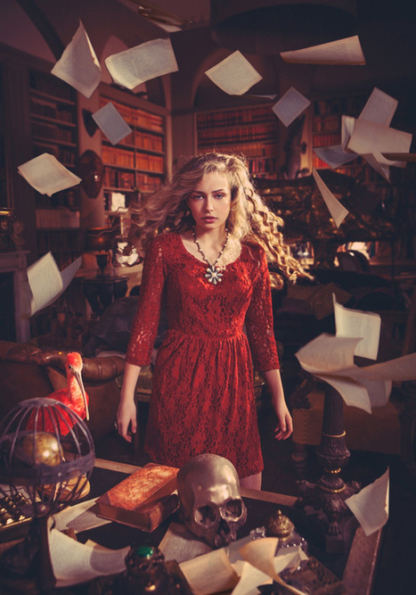 Surreal Fashion Photography by Miss Aniela | Cuded | Social Comunications Today | Scoop.it