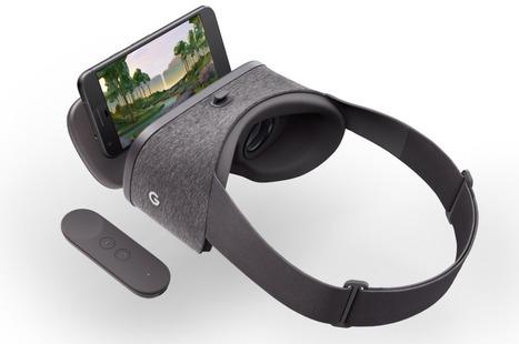 Daydream View : Comment Google veut détrôner Samsung et Oculus dans la réalité virtuelle | Pep'up convergence | Scoop.it