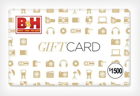 We're Giving Away a $1,500 Gift Card to B&H | xposing world of Photography & Design | Scoop.it