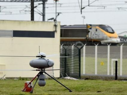 Des drones militaires pour surveiller le tunnel sous la Manche | Une nouvelle civilisation de Robots | Scoop.it