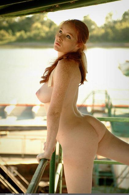 Katrin porto flashing in car and shopping nude - 1 4