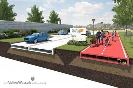 A quand des routes en plastique recyclé ? | Biodiversité & RSE | Scoop.it