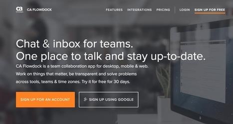 Flowdock. Système de tchat avancé pour le travail collaboratif - Les Outils Collaboratifs | Les outils du Web 2.0 | Scoop.it