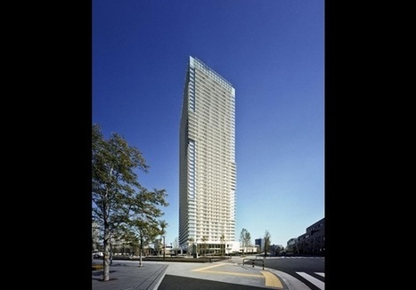 Richard Meier completes 170m- tall Tokyo tower | The Architecture of the City | Scoop.it