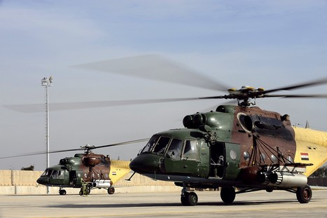 Iraqi Helicopters Are Dropping Dumb Bombs | Lawless land | Scoop.it