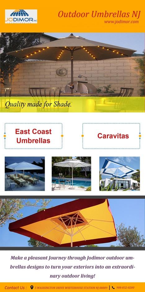 Outdoor Umbrellas NJ | JoDiMor, Inc | Scoop.it