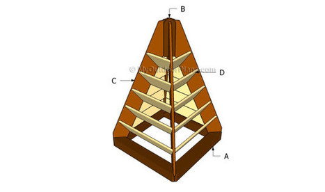 Strawberry Tower Plans | Free Outdoor Plans - DIY Shed, Wooden Playhouse, Bbq, Woodworking Projects | Garden Projects | Scoop.it