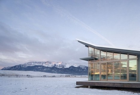 The Glass Farmhouse by Olson Kundig Architects | sustainable architecture | Scoop.it