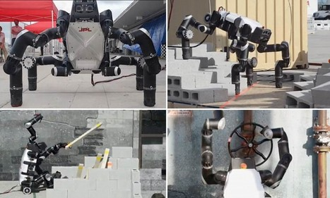 Robo-ape crawls like a spider, opens doors - and could save lives | Robolution Capital | Scoop.it