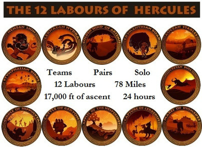 The Twelve Labours of Hercules | Talk Ultra - Ultra Running | Scoop.it