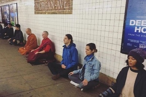Meditation in the Big Noise: Find Your Inner Peace in New York City - World Religion News | How to Be More Mindful | Scoop.it
