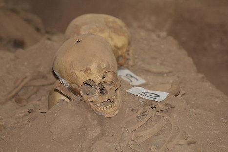 Arqueólogos descubrieron en templo de Cusco una cripta con esqueletos y una pintura mural   La Mula (Pérou)   Kiosque du monde : Amériques   Scoop.it