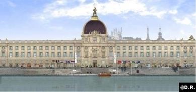 Le Grand Hôtel-Dieu de Lyon : de la charité à la gastronomie cinq étoiles | Architecture pour tous | Scoop.it