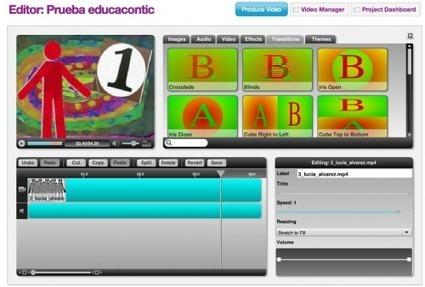 6 aplicaciones muy utiles para editar vídeos online |  Educa con TIC | Animación y Vídeo Digital | Scoop.it