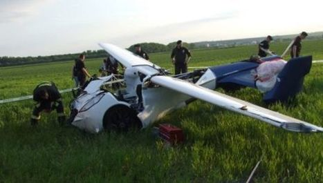 People Still Insist This Flying Car Will Arrive By 2017, Despite Crash | News we like | Scoop.it
