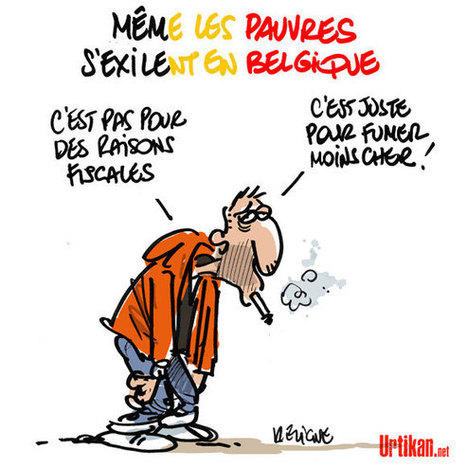 Cigarettes à 6,10 euros, ruée vers la Belgique ? | Baie d'humour | Scoop.it