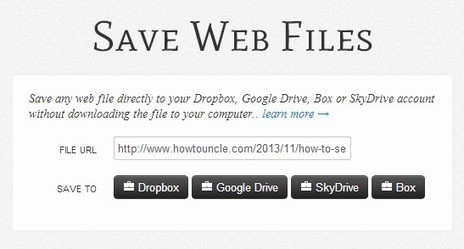 How to Download Files Directly from the Web to Your Google Drive   Tips And Tricks   Scoop.it