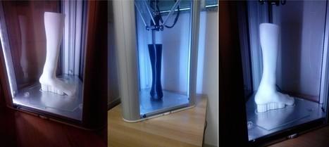 Stampare protesi in 3D: il laboratorio italiano che lavora con una stampante italiana - International Business Times | Literature, art, technology and science | Scoop.it