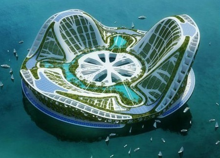 Lilypad floating city concept | Avant-garde Art, Design & Rock 'n' Roll | Scoop.it