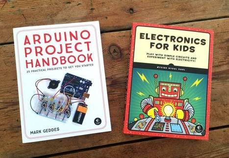Two new great books for Arduino and electronics projects | Arduino, Netduino, Rasperry Pi! | Scoop.it