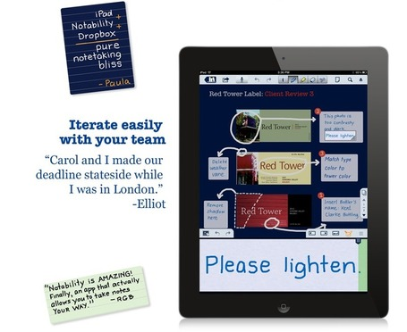 Notability - Unleash Your Note Taking Ability. | academiPad | Scoop.it