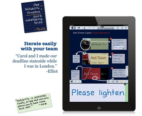 Notability - Unleash Your Note Taking Ability. | IKT och iPad i undervisningen | Scoop.it