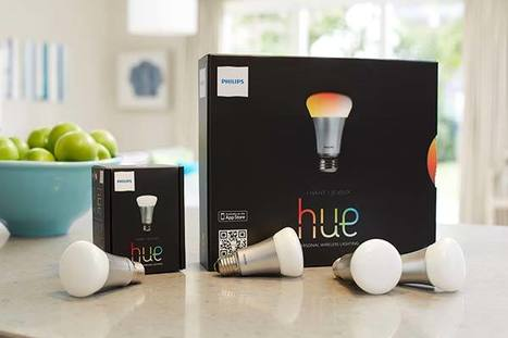 """Meet """"hue"""" - the new iOS Controlled Lightbulbs from Phillips 