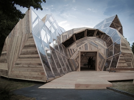 Adaptable Architecture: Meeting Dome by Kristoffer Tejlgaard & Benny Jepsen | ciberpocket | Scoop.it